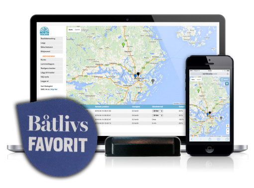 NorthTracker - Båtlivs favorit